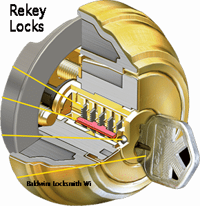 rekey locks San Diego