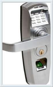 biometric door lock San Diego