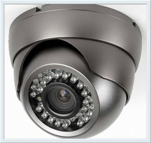 weatherproof color security camera with night vision San Diego