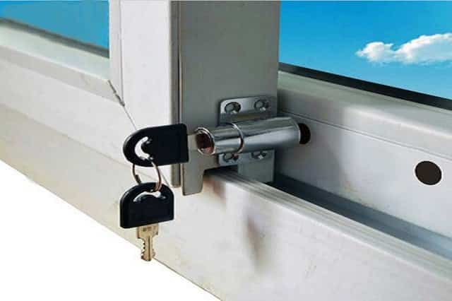 how to fix sliding door lock mechanism